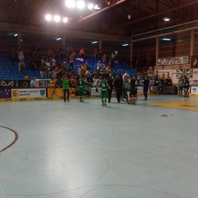 Sporting está na final da Taça CERS!