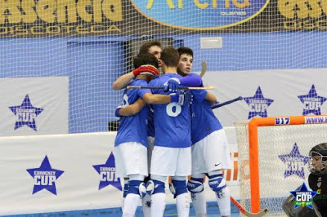 Eurockey sub 17 - HC Braga salta para os quartos de final em 1º do grupo