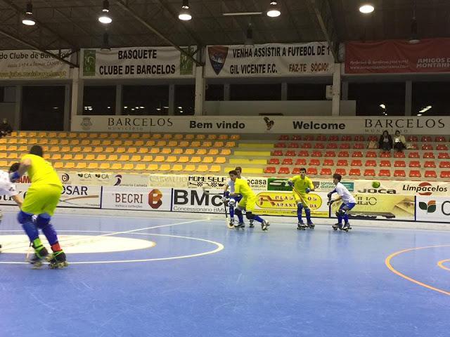 Nacional de Juvenis - HC Braga vence OC Barcelos
