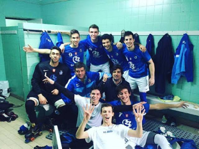 Nacional de Juvenis - HC Braga vence AD Valongo e lidera o grupo