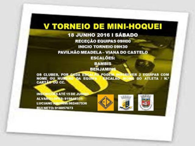 ED Viana organiza V Torneio de Mini-Hóquei