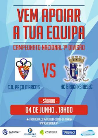 I DIVISÃO - HC Braga proibido de marcar