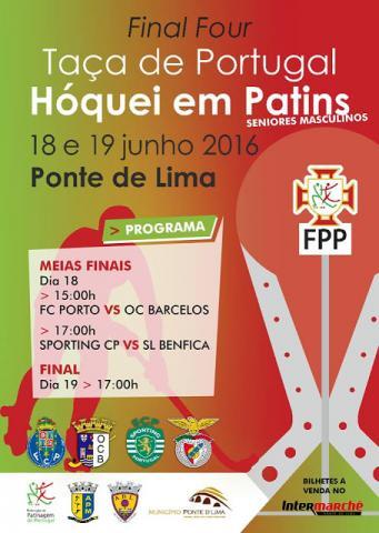 Taça de Portugal - Preços dos ingressos para a final four em Ponte de Lima