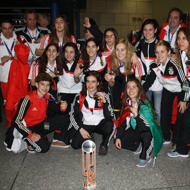 Equipa feminina do Benfica quer ganhar tudo