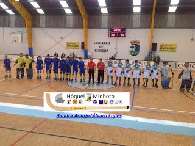 AP Minho vence AP Porto na abertura do IV Torneio Luso Galaíco