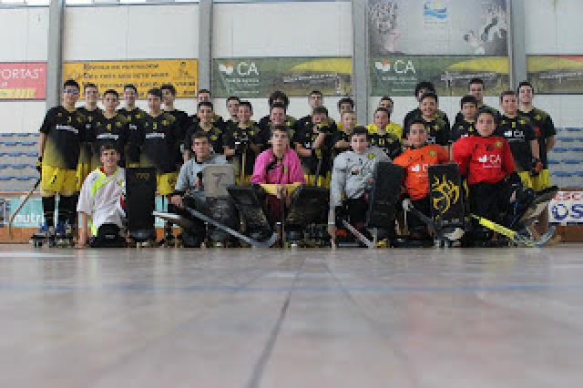Escola Desportiva de Viana apresentou escalões de formação