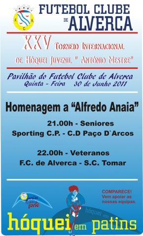 Relembrando Alfredo Anaia, em Alverca
