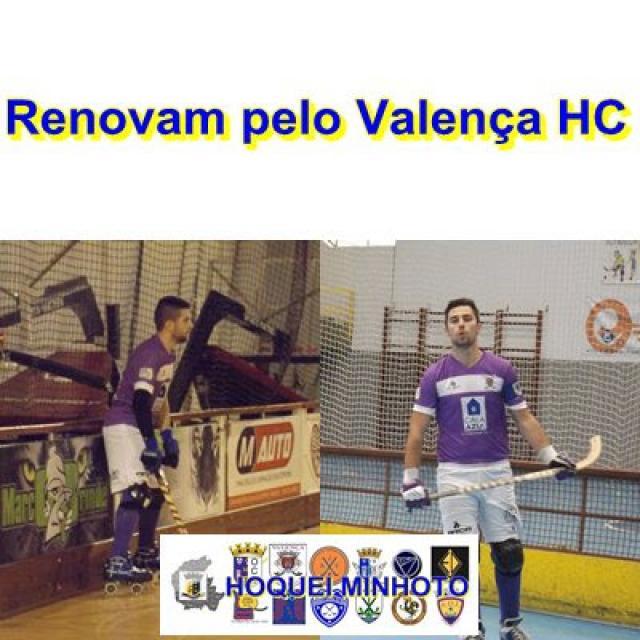Valença HC - Miguel Fernandes e Ziga Campos renovam