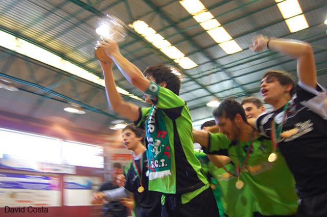 Juvenis do SC Tomar conquistam título Nacional
