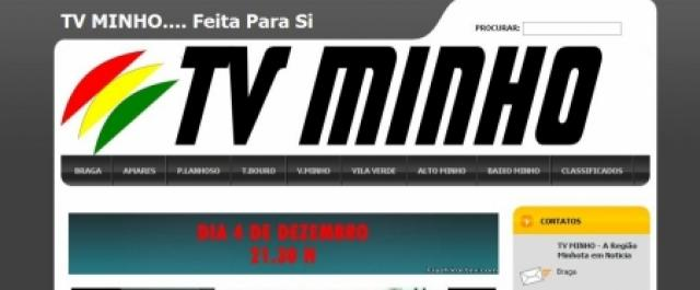 TV Minho transmite Braga – Benfica
